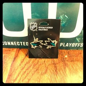NHL San Jose Sharks 🦈 Collectible Earrings